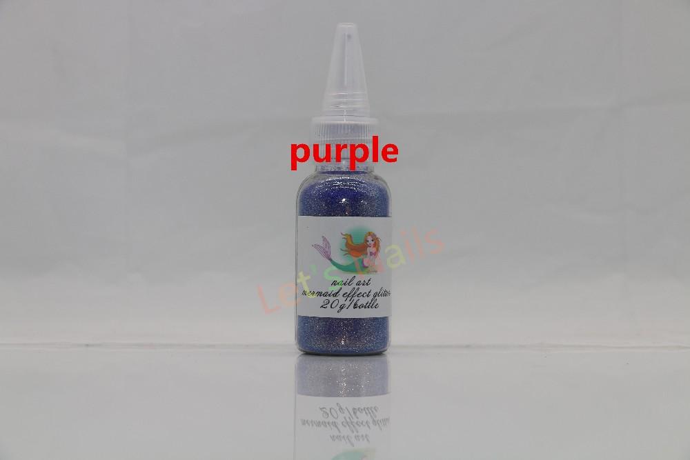 New Mermaid Effect Nail Polish in Mermaid Spell Glitter Powder Dust Magic Glimmer 2016 Trend 12 COLORS Mermaid Strips Tale Tears