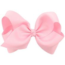 Newly Design Fashion Big Bow Hairpins Hair Clips For Children Kids Girls Hair Accessories(China (Mainland))