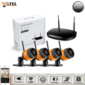 4CH NVR Kit 4pcs 720p ip camera wifi Home security surveillance camera system ONVIF2 0 supports