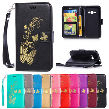 Buy Case Samsung Galaxy J1 Ace J 1 110 J1ace 4G Lte J110F J110H J110F/DS Flip Phone Leather Cover SM-J110F SM-J110H SM-J110F/DS for $4.49 in AliExpress store