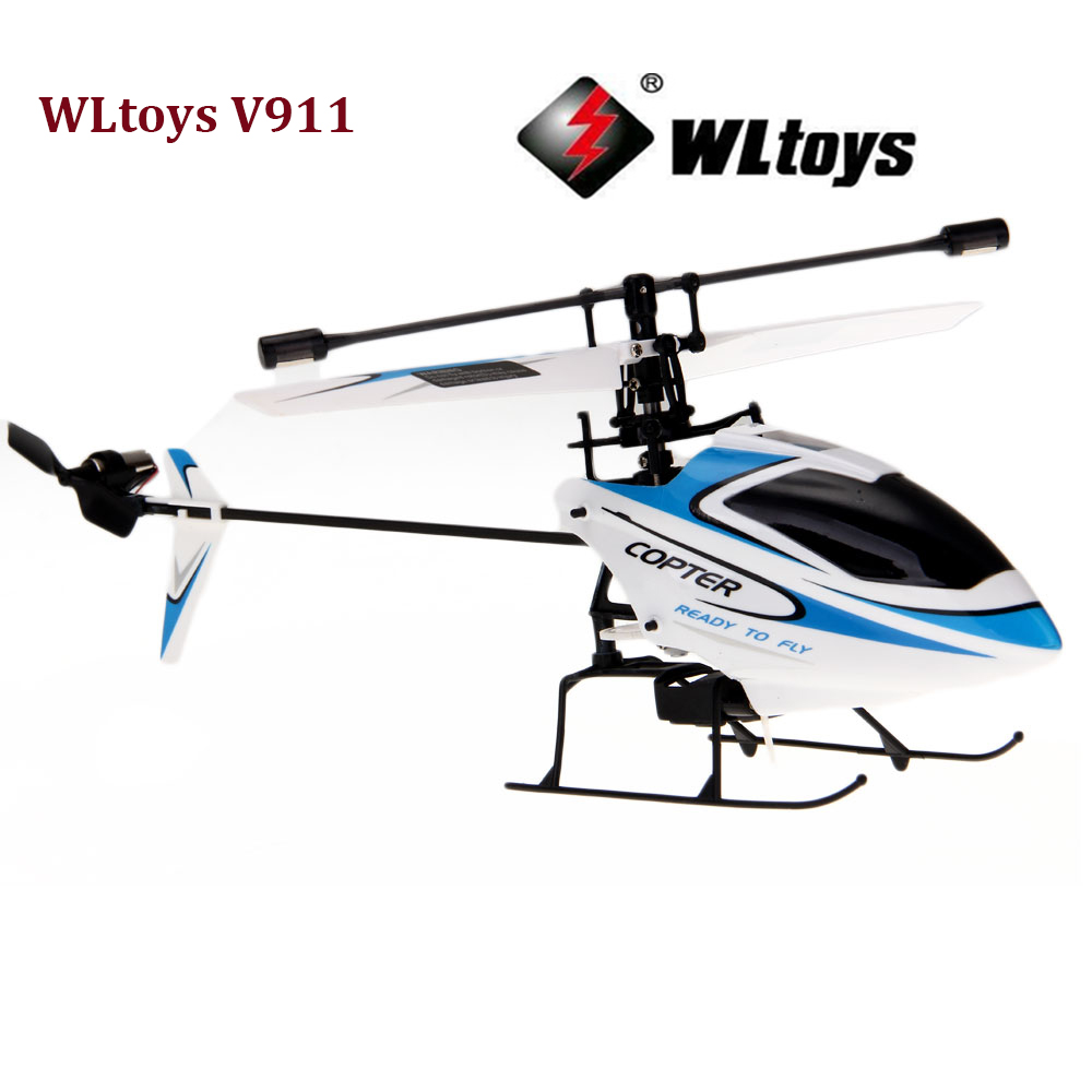 New Version WLtoys V911 2.4GHz 4CH Channel Remote Control RC Helicopter Toy NO TRANSMITTER Mini Heli Remote Control Aircraft(China (Mainland))