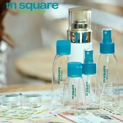 M Square - Brand 2015 Portable Cosmetic Spray Bottle Make Skin Care Travel Refillable Accessories Shenzhen Soul Technology CO., LTD store
