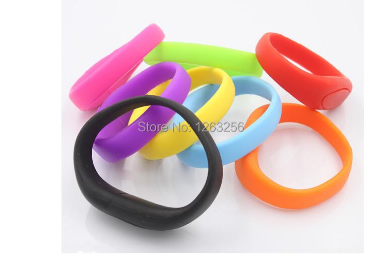 pen drive silicone bracelet 4gb 8gb 16gb 32gb 64gb usb drive Bracelet usb flash drive memory stick gift and free shipping(China (Mainland))