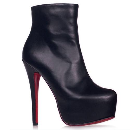 Cheap Elegant 14cm Super High Heels Platform women Pumps Dress Shoes ankle Boots - goodluckeshop store