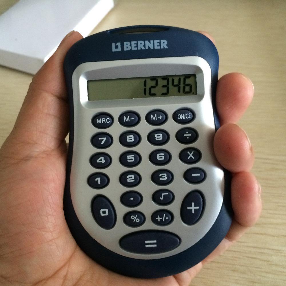 8 small mini portable travel Pocket Money Calculator(China (Mainland))