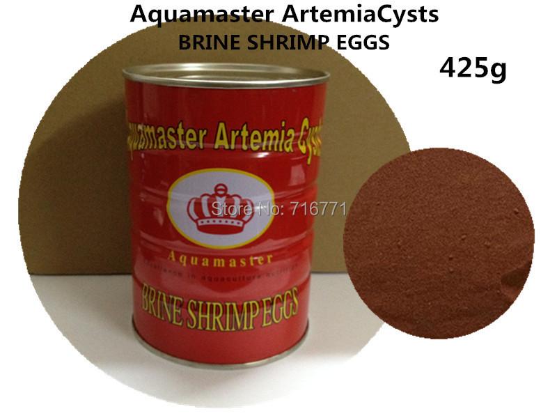 Aquamaster Artemia Cysts Brine Shrimp Eggs (Artemia Cysts) 425g of 90% Hatch(China (Mainland))