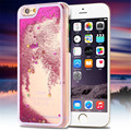 Hot Dynamic Liquid Glitter Sand Quicksand Star Case For iphone 6 4 7 Crystal Clear phone