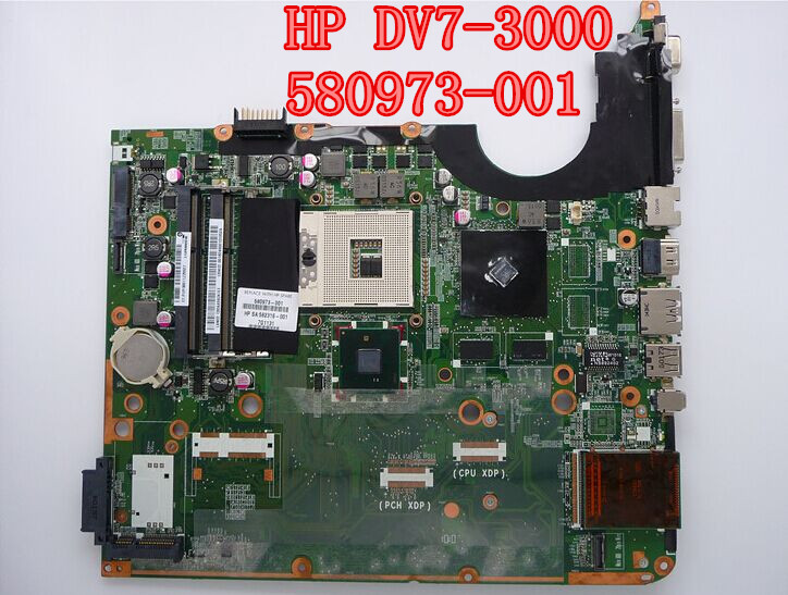 580973-001 for HP DV7 DV-3000 Intel Laptop motherboard for HP 580973 001 100% Tested and guaranteed in good working condition!!(China (Mainland))