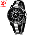 New Fashion OHSEN Men Women Unisex Waterproof Sport Watch 7 Multi color LED Light Clock Relogio