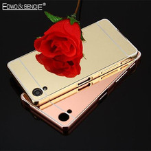 Buy EDWO For Sony Xperia Z1 Z2 Z3 Z4 Z5 mini C3 C5 C6 Ultra thin Hard Shell Phone Case Plating Acrylic Mirror Back Cover Metal Frame for $5.99 in AliExpress store