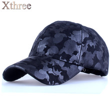 Xthree camouflage baseball cap army snapback Hat for men Cap women gorra casquette dad hat Wholesale(China (Mainland))