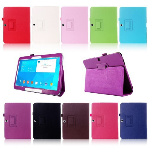 Newest Ultra Slim Smart PU Leather Case Cover For Samsung Galaxy Tab 4 10.1 T530 T531 T535 Flip Stand Cases Book Design(China (Mainland))