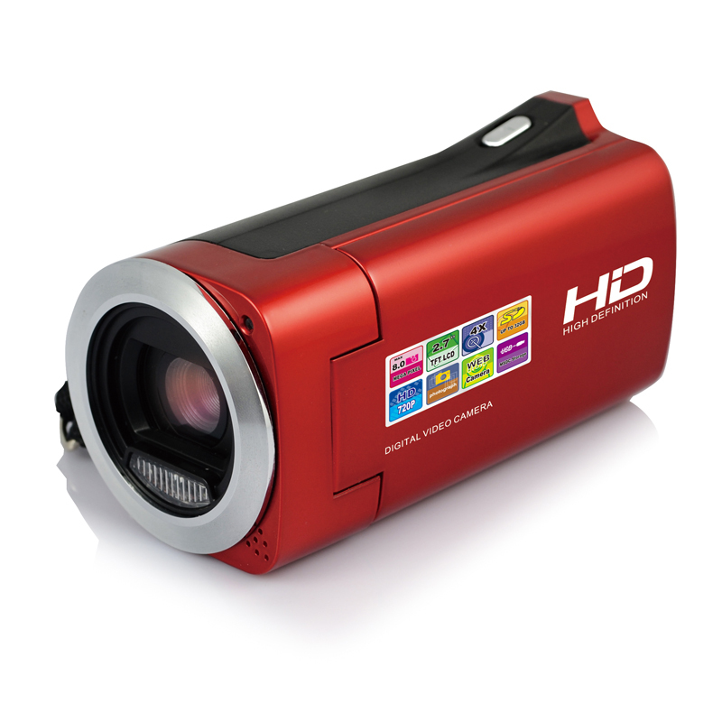 "12MP Max Support Full HD 1080P Digital Video Camera 8MP CMOS 4 x Digital Zoom 2.7"" TFT Screen Webcam Mini DV Cheap DVR Camcorder(China (Mainland))"