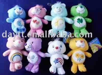 Free Shiping +5.5 inches care bear plush doll A916 on sale & Drop shipping