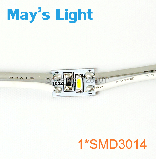 1000pcs Free Shipping via DHL/UPS/FEDEX Cool White LED Module,11 x 7mm/12V/0.36W One Single Chip 3014 SMD Resin LED Module<br><br>Aliexpress