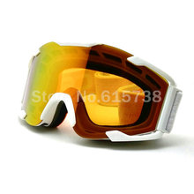 Color lens goggle off road motocross goggles glasses motorcycle goggle dirt bike racing google(China (Mainland))
