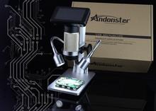 new Andonstar ADSM201 HDMI microscope 1080P microscope soldering microscope digital microscope long object distance microscpe(China (Mainland))