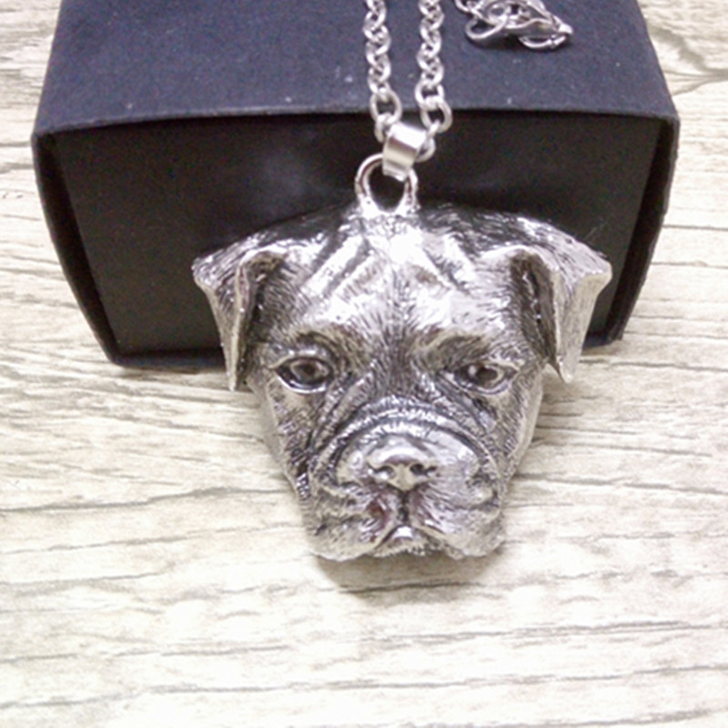 sale The new ancient British bulldog silver necklace pendant men and women wear jewelry 12pcs/lot<br><br>Aliexpress
