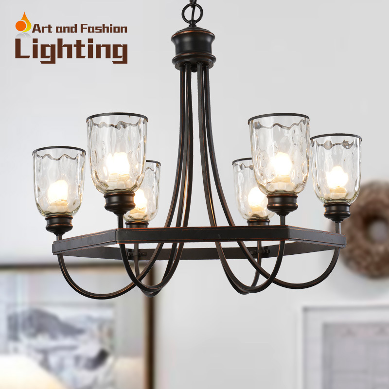 popular iron cottage chandelier vintage surface with clear