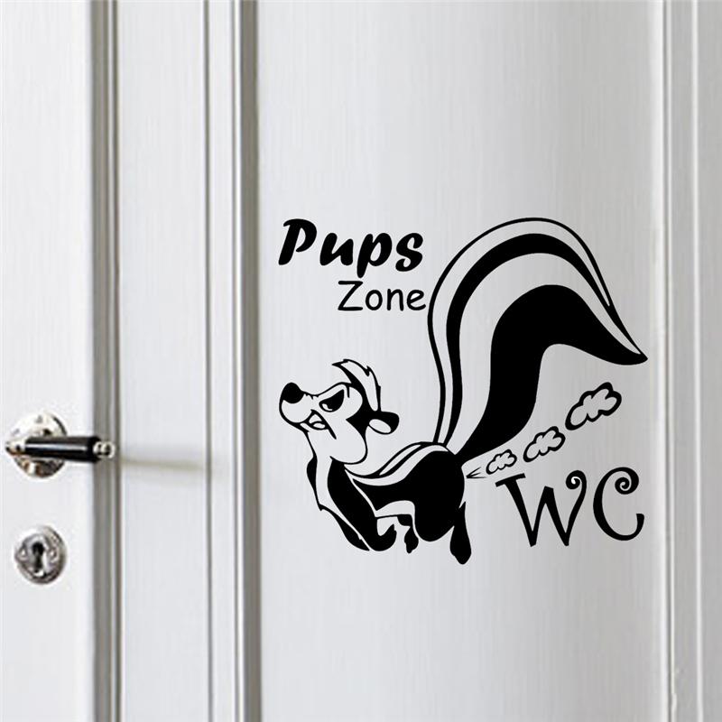Achetez en gros toilettes wc en ligne des grossistes for Autocollant porte wc