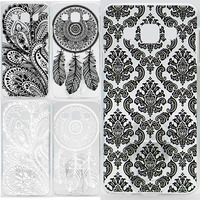 Case For Samsung Galaxy A5 A500 A500F Hollow Out Texture Coloured Drawing Phone Cover For Samsung A5 Hard Plastic Phone Cases