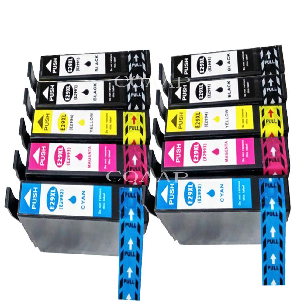 10x T2991 T2992 T2993 T2994 Ink Cartridge Replace For EPSON XP-235 XP-332 XP-335 XP-432 XP-435 Printer<br><br>Aliexpress