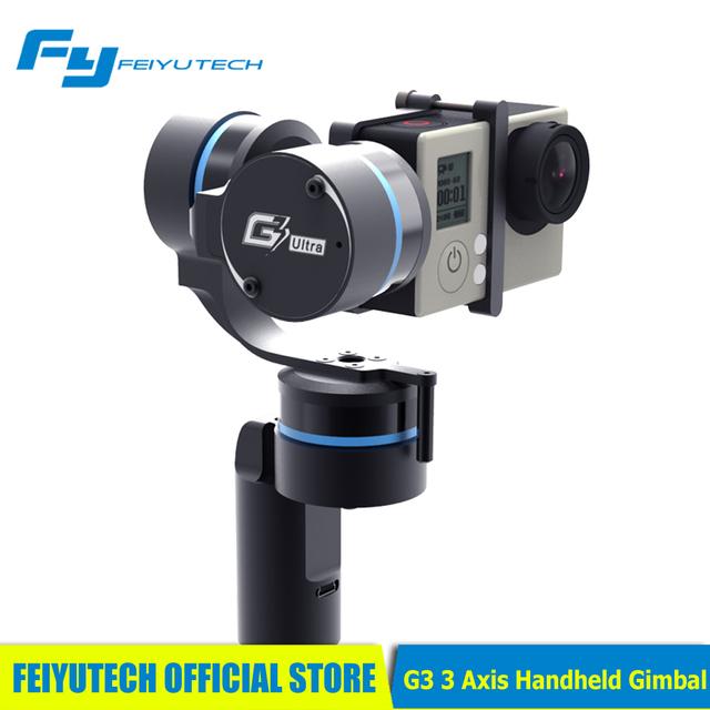 [feiyutech Official Store] Feiyu Fy G3 3 Axis Handheld Gimbal For Gopro Brushless Motor Metal Shell 2014