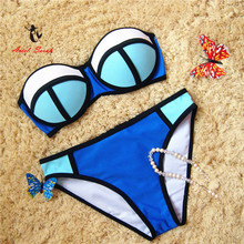 Bikini 2016 Sexy Swimwear Women Push Up Bikinis Set Low Waist Swimsuit Bathing Suit Maillot De Bain Biquini BJ092