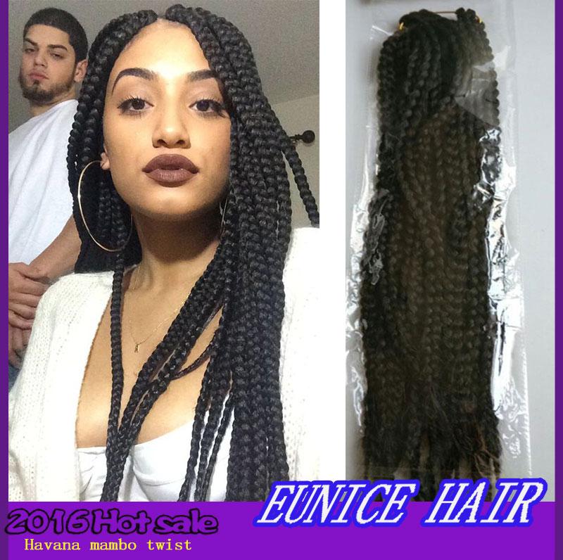 Box Braids Hair 24 Inch Kanekalon Havana Mambo Hair Havana Jumo Crochet Hair For Black Women Tissage Synthetic Kinky Twist Hair<br><br>Aliexpress
