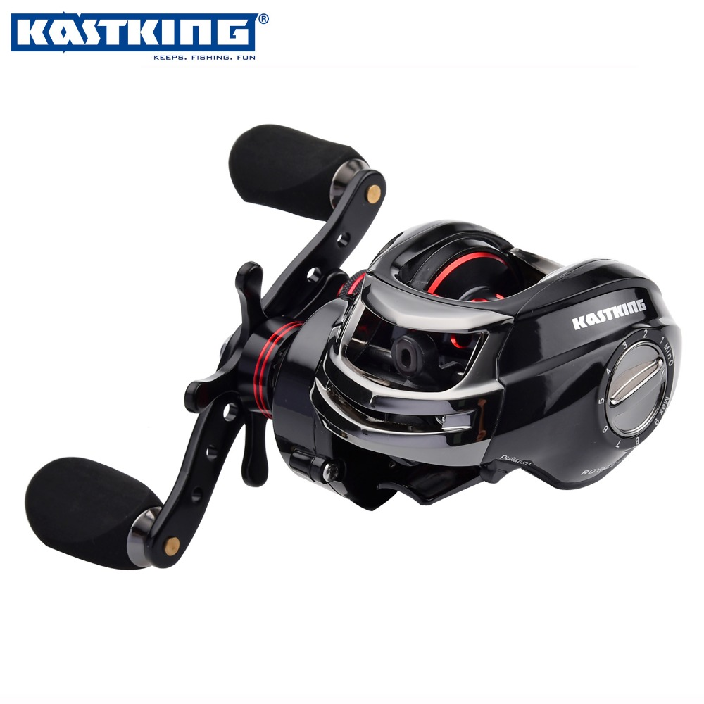 KastKing Royale Legend Right or Left Baitcasting Reel 12BBs 7.0:1 Bait Casting Fishing Reel Magnetic and Centrifugal Dual Brake(China (Mainland))