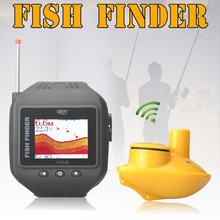 2016 New Watch Type Sonar Fish Finder Wireless Fishfinder200 Feet(60M) Range Protable Echo Fishing Sounder FF518(China (Mainland))