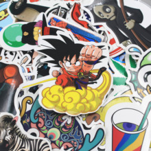 NEW 300 pcs mixed  laptop snowboard luggage decor jdm brand car sticker on car styling decal motorcycle doodle stickers(China (Mainland))