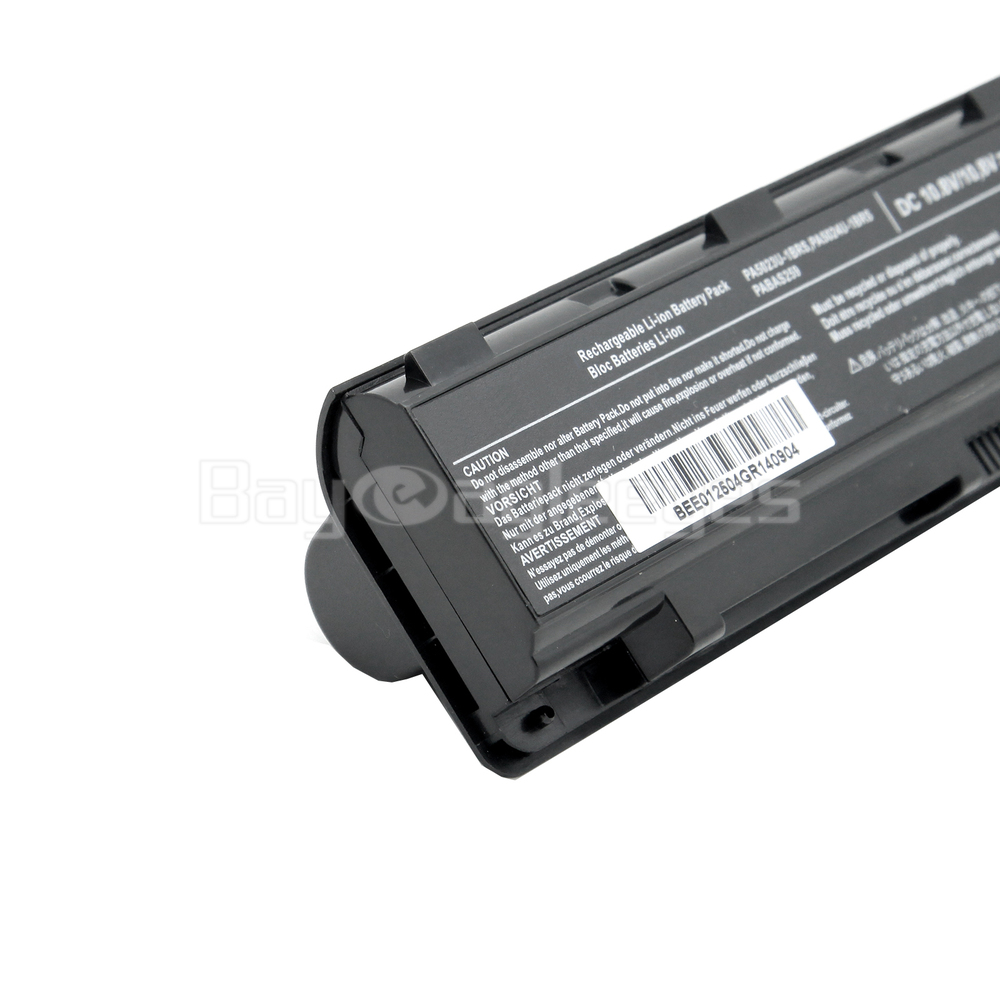 Battery For Toshiba Dynabook Qosmio T752 T852 Satellite B352 T572 Baterai A200 M200 A205 L200 Pa3534 Pa3535 Black Getsubject Aeproduct