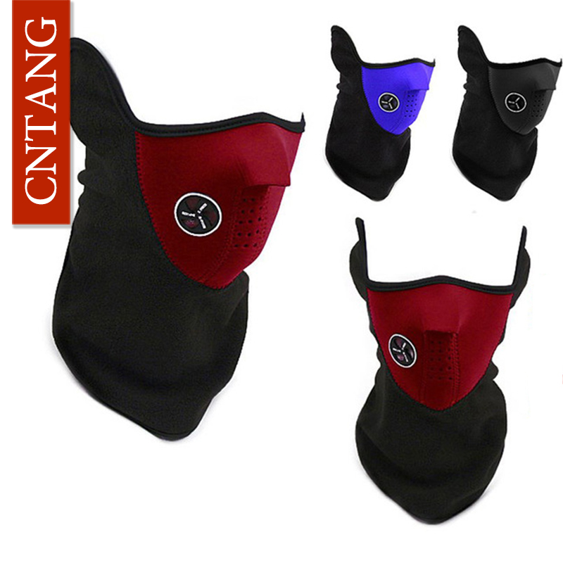 New 2016 Winter Riding Windproof Ski Masks Dustproof Outdoor Masks Fleece Face Protection Warm Buttons Motorcycles Hiking Masks(China (Mainland))
