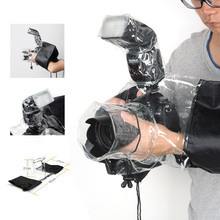 Waterproof Camera Rain Cover Coat Bag Protector Rainproof Raincoat Against Dust for Canon Nikon Sony DSLR Cameras - 2 Verions(China (Mainland))