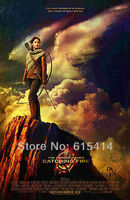 """03 The Hunger Games Katniss Jennifer Lawrence 2013 movie 24""""x37"""" inch wall Poster with Tracking Number"""