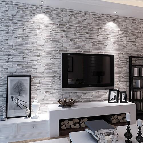 design : steintapete grau wohnzimmer ~ inspirierende bilder von ... - Tapeten Wohnzimmer Grau