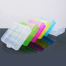 New Arrival 2x Battery Hard Plastic Case Holder Comtainer Storage Box Cover for AA AAA 14500 10440 Battery  5AIO