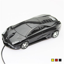 2016 Brand New Fashion Mini Mouse 3D Car Shape USB Optical Wired Mause Mice For PC/Laptop/Computer Gaming Wholesale