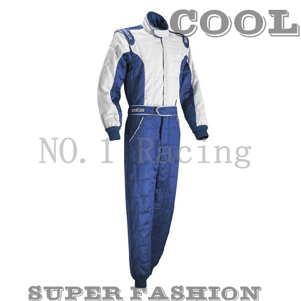 good quality Sparco fireproof racing FIA approved Latest 2 Layer fireproof suit for F1 free shipping(China (Mainland))