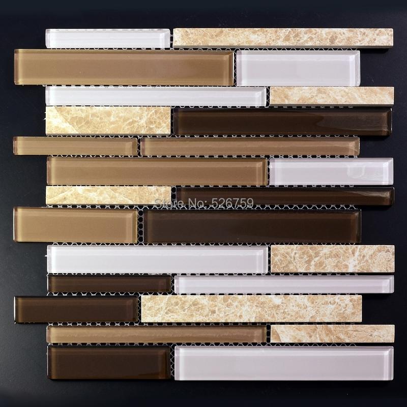 5mm spessore incastro pietra di vetro mosaico di piastrelle di pietra piastrelle cucina - Piastrelle a poco prezzo ...