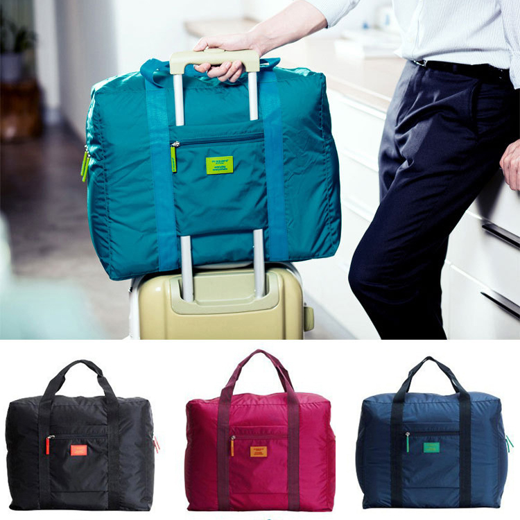 Business Travel Bag Water Proof Unisex Handbags Women Luggage Folding Bags High Capacity - Fashion Beauty Mall store