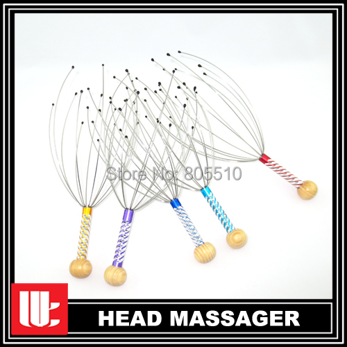 "150pcs/lot Hand Stress Relax Scalp Manual Head Massager tingler day spa"" Hot on sale"" SGS, TUV cert, Quality confirm"