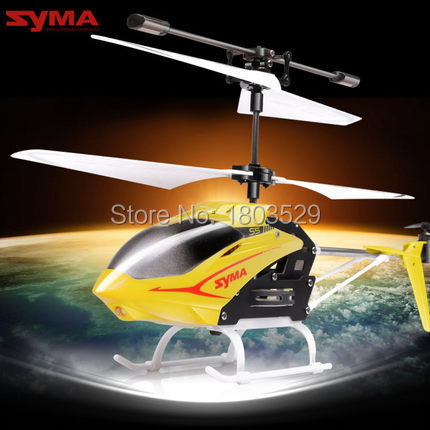 Free shipping HotSell remote control toys SYMA S5 3.5 channel mini electric rc helicopter&drone model for kids as birthday gift(China (Mainland))