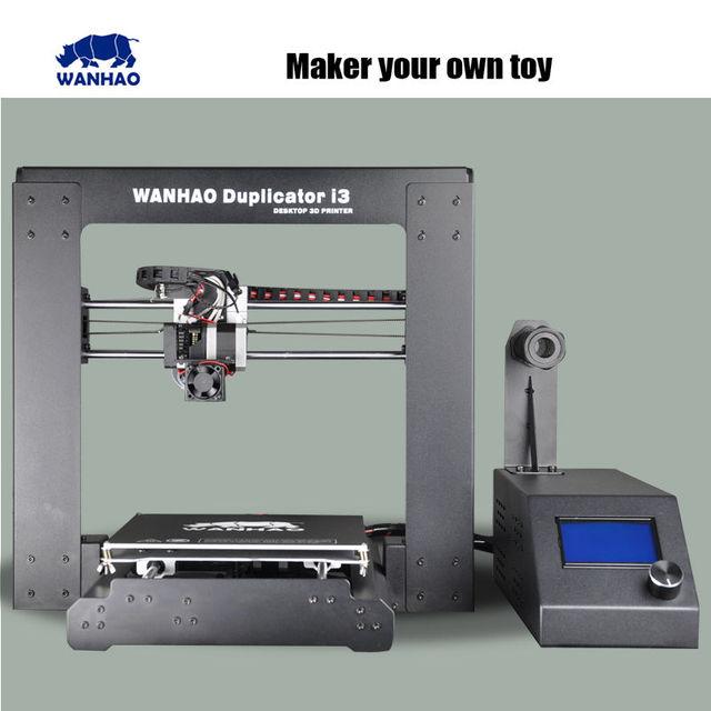 3Д Принтер WANHAO Duplicator i3 ! Улучшенная версия с высокой точностью печати. Prusa i3 DIY 3d Printer kit with LCD Напиши нам где есть дешевле и мы сделаем еще дешевле!