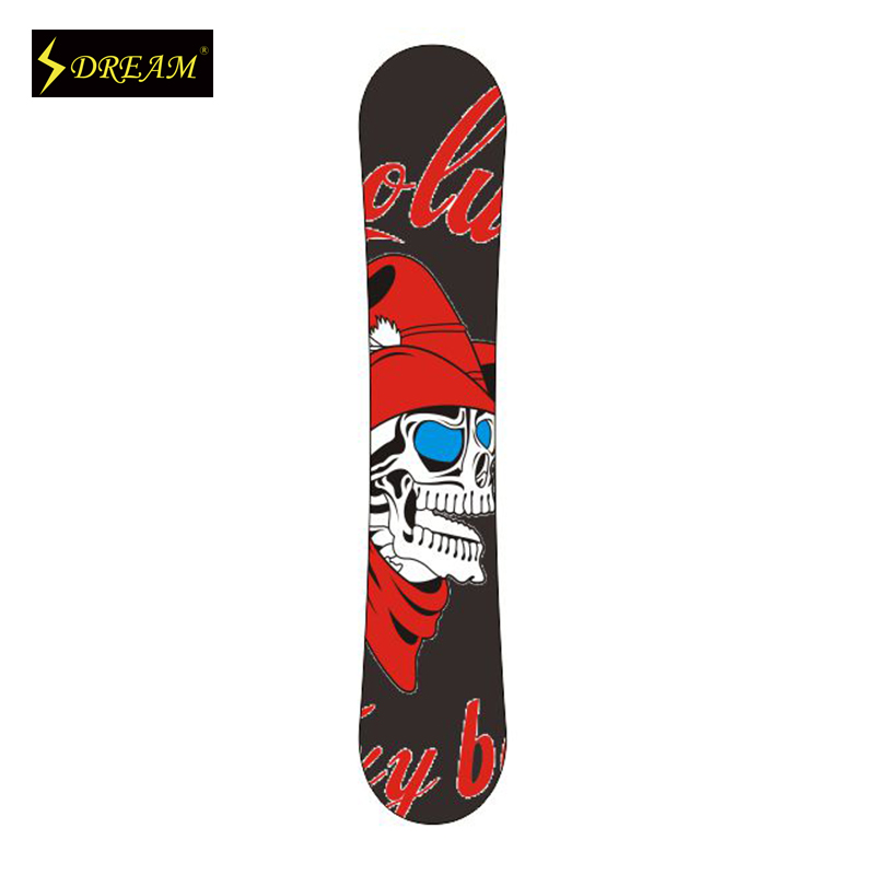 Customizable Wooden Snowboards Skiing Boards Poplar Core With Carbon Fiber P-Tex Base Customed Outdoor Freeride(China (Mainland))