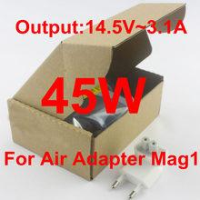 Benvenuto ordine all'ingrosso migliore qualità 45 w l tip Mag1 14.5 v 3.1a  Adattatore di alimentazione ca del caricabatteria per macbook air 11 ''a1369 a1244  A1370(China (Mainland))