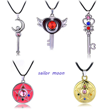 Gothic Punk Style Silver Japanese Anime Sailor Moon Pendant Collar Chocker Cosplay Pendant Best Gift For Friend Free Shipping(China (Mainland))