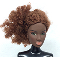 NK One Pcs Unique FR Doll Head  For FR Dolls 2002 Restricted Version Assortment Brown Hair Finest DIY Reward For Women'  Doll 004G
