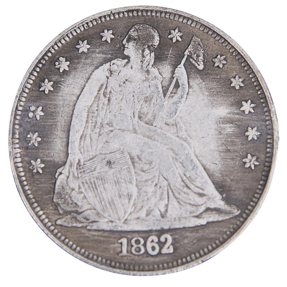 American 1862 Liberty Godness Golden Color America Freedom Eagle Liberty Gold Coin Antique Coins Collectibles Souvenir BTC136(China (Mainland))